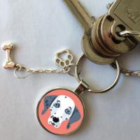 porte clé dalmatien